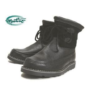 SALE martino マルティノ HALIFAX ハリファックス スムースブラック/ブラック MHTMI003-15 sneaker-soko