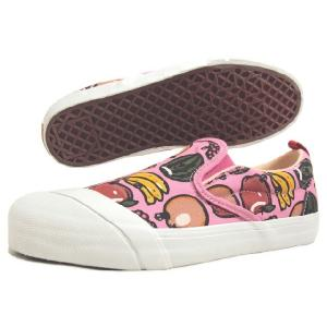 SALE LOSERS ルーザーズ SCHOOLER SLIP ON スクーラー スリップ オン ピンク (フルーツバスケット) 14SSCVS003-PNK|sneaker-soko