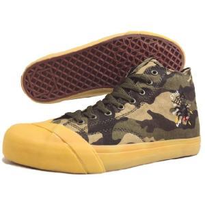 SALE LOSERS ルーザーズ SCHOOLER CL HI スクーラー クラシック ハイ カモフラージュ (ウェルフェア) 14SSCVH001-CAM|sneaker-soko