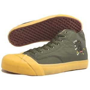 SALE LOSERS ルーザーズ SCHOOLER CL HI スクーラー クラシック ハイ アーミーグリーン (ウェルフェア) 14SSCVH001-ARN|sneaker-soko