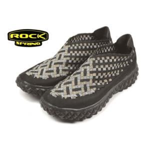 20%OFF ロックスプリング ROCK SPRING RINPOCHE 2 リンポチェ 2 ブラック/シルバー RS131 sneaker-soko