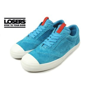SALE LOSERS ルーザーズ UNEAKER TSUMAKAKE ユニーカー ツマカケ ツユクサブルー 14AWUN10|sneaker-soko