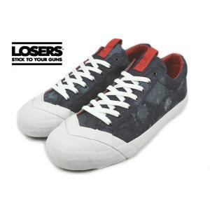 SALE ルーザーズ LOSERS SCHOOLER LO PSYCHEDELIC スクーラー ロー サイケデリック インディゴ 14AWSL05|sneaker-soko