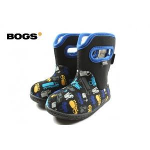 SALE 子供 BOGS ボグス BABY BOG CL TRUCKS ベビー ボグス クラシック トラックス ブラックマルチ 71660I-009 sneaker-soko