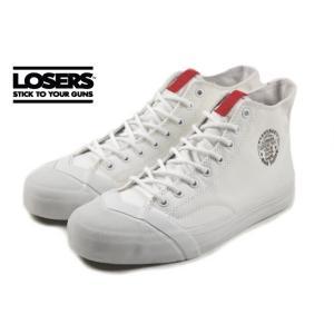 ルーザーズ LOSERS SCHOOLER CL HI スクーラー クラシック ハイ ホワイト SSCH01|sneaker-soko