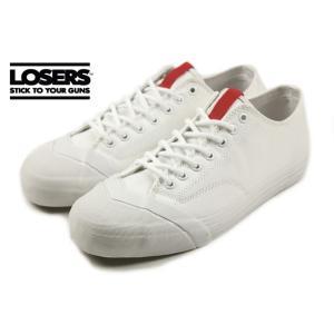 ルーザーズ LOSERS SCHOOLER CL LO スクーラー クラシック ロー ホワイト SSCL01|sneaker-soko