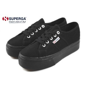 30%OFF スペルガ SUPERGA 2790A COTW LINEA UP AND DOWN 2790A COTW リネア アップ アンド ダウン フルブラック S0001L0-996|sneaker-soko
