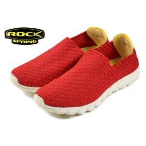 30%OFF ROCK SPRING ロックスプリング ORLANDO オーランド レッド RS117 sneaker-soko