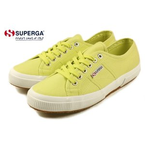 20%OFF スペルガ SUPERGA 2750 COTU CLASSIC サニーライム S000010-D37|sneaker-soko