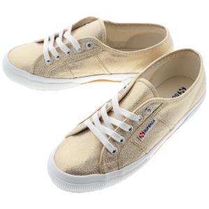 SUPERGA スペルガ 2750 LAMEW 2750 ラメ ウィメン ゴールド(オレンジゴールド) S001820-174|sneaker-soko