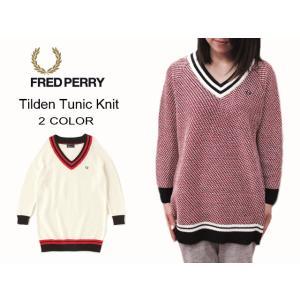 20%OFF フレッドペリー FRED PERRY Tilden Tunic Knit チルデン チュニック ニット F7088|sneaker-soko