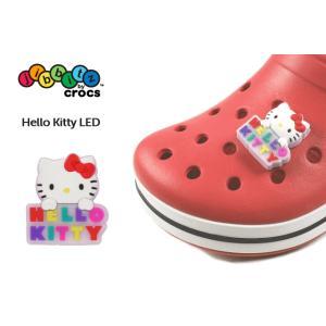 crocs クロックス jibbitz ジビッツ Hello Kitty LED ハローキティ LED|sneaker-soko