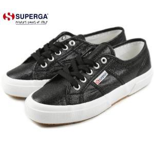 30%OFF スペルガ スニーカー SUPERGA 2750 LAMEW 2750 ラメ ウィメン ブラック S001820-999|sneaker-soko