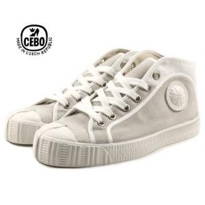 30%OFF CEBO セボ 704SL ホワイト/ホワイト メンズ|sneaker-soko