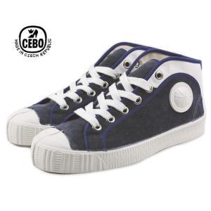 30%OFF CEBO セボ 704SL ネイビー/ホワイト メンズ|sneaker-soko