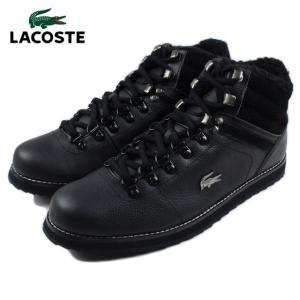20%OFF ラコステ LACOSTE JARMUND PUT ジャームンド プット ブラック/ブラック MAG016-02H|sneaker-soko
