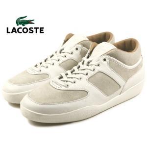 20%OFF ラコステ LACOSTE HALF COURT 3 ハーフコート 3 オフホワイト MZG007-098|sneaker-soko