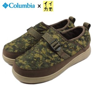 30%OFF コロンビア Columbia SPINREEL MOC WP スピンリール モック ウォータープルーフ セージ YU3714-365|sneaker-soko
