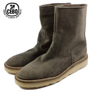 30%OFF CEBO セボ 25070B-C ベージュスエード メンズ ブーツ|sneaker-soko