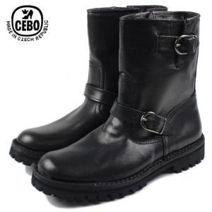 30%OFF CEBO セボ 26175A-C ブラック メンズ ブーツ|sneaker-soko
