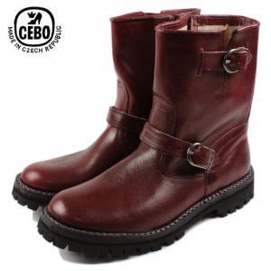 30%OFF CEBO セボ 26175A-C バーガンディ メンズ ブーツ|sneaker-soko