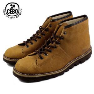 30%OFF CEBO セボ 92006F-S キャメルスエード メンズ ブーツ|sneaker-soko