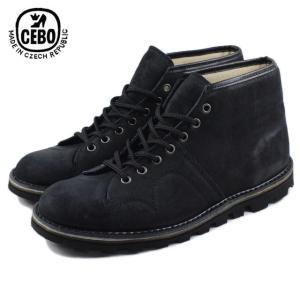 30%OFF CEBO セボ 92006F-S ネイビースエード メンズ ブーツ|sneaker-soko