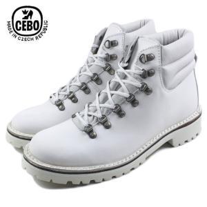 30%OFF CEBO セボ 92115A-S ホワイト メンズ ブーツ|sneaker-soko