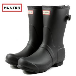 20%OFF HUNTER ハンター オリジナル バック アジャスタブル ショート ブラック WFS1013RMA-BLK レインブーツ sneaker-soko