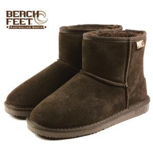 SALE BEACH FEET ビーチフィート クラシック ブーツ ミニ チョコレート BEF007-46 レディース|sneaker-soko