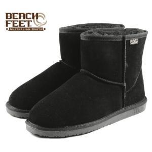 SALE BEACH FEET ビーチフィート クラシック ブーツ ミニ ブラック BEF008-00 メンズ|sneaker-soko