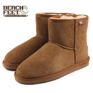 SALE BEACH FEET ビーチフィート クラシック ブーツ ミニ チェスナット BEF008-43 メンズ|sneaker-soko