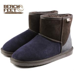 SALE BEACH FEET ビーチフィート クラシック ブーツ ミニ チョコレートクレイジー BEF008-80 メンズ|sneaker-soko