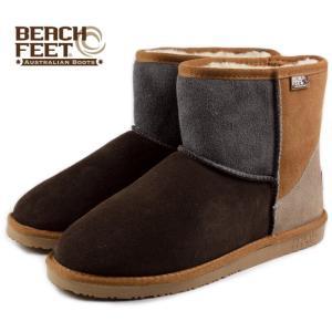 SALE BEACH FEET ビーチフィート クラシック ブーツ ミニ チェスナットクレイジー BEF008-81 メンズ|sneaker-soko