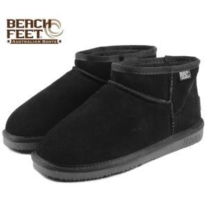 SALE BEACH FEET ビーチフィート クラシック ブーツ マイクロ ブラック BEF009-00 レディース|sneaker-soko