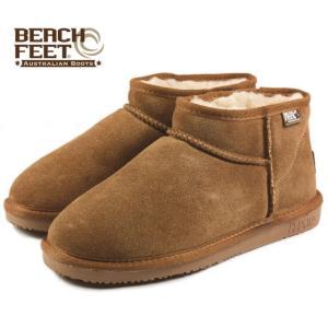SALE BEACH FEET ビーチフィート クラシック ブーツ マイクロ チェスナット BEF009-43 レディース|sneaker-soko