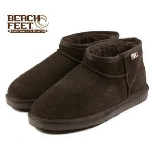 SALE BEACH FEET ビーチフィート クラシック ブーツ マイクロ チョコレート BEF009-46 レディース|sneaker-soko