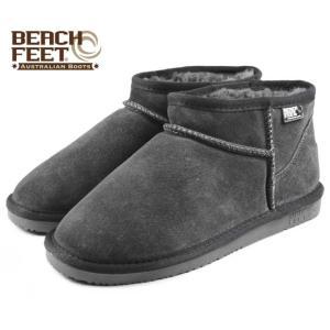 SALE BEACH FEET ビーチフィート クラシック ブーツ マイクロ グレー/ネイビー BEF009-91 レディース|sneaker-soko