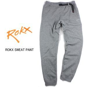 20%OFF ROKX ロックス ROKX SWEAT PANT ロックス スウェットパンツ グレー RXMF5302-GRY|sneaker-soko