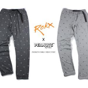 30%OFF ROKX ロックス ROKX X PEANUTS PEANUTS FAMILY SWEAT PANT ロックスXピーナッツ ピーナッツファミリー スウェットパンツ RXMF5218|sneaker-soko