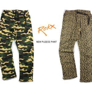 30%OFF ROKX ロックス NEW PLEECE PANT ニュー フリースパンツ RXMF5116|sneaker-soko