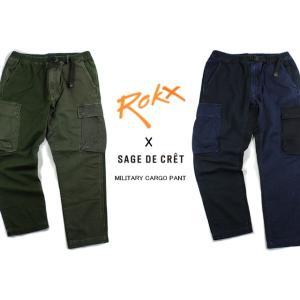 30%OFF ROKX ロックス ROKX X SAGE DE CRET MILITARY CARGO PANT ロックスXサージュデクレ ミリタリー カーゴパンツ RXMF5601|sneaker-soko