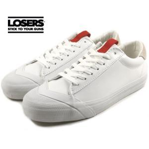 30%OFF LOSERS ルーザーズ SCHOOLER LO スクーラー ロー ホワイト SL07|sneaker-soko