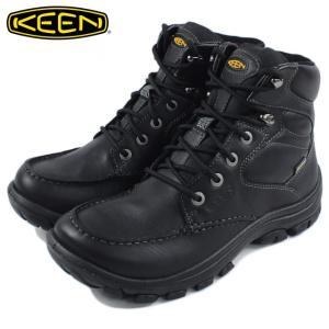 20%OFF KEEN キーン Anchor Park Boot WP アンカー パーク ブーツ ウォータープルーフ ブラック 1013785|sneaker-soko