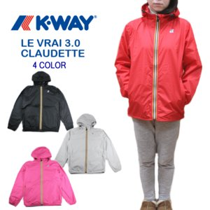 30%OFF K-WAY ケーウェイ LE VRAI 3.0 CLAUDETTE K005IF0|sneaker-soko