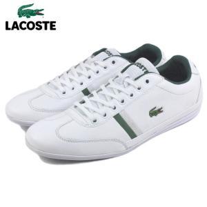 10%OFF ラコステ LACOSTE MISANO SPORT 116 1 ミサノ スポーツ 116 1 ホワイト MZI030-001|sneaker-soko