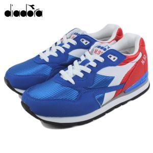 30%OFF DIADORA ディアドラ N-92 ポピーレッド/インペリアルブルー 170477-01-C6133|sneaker-soko