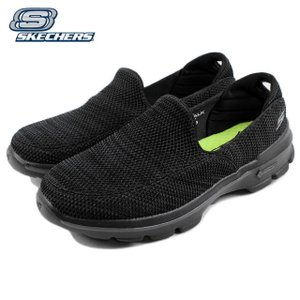 10%OFF スケッチャーズ スニーカー GO WALK 3 FITKNIT ゴー ウォーク 3 フィットニット ブラック/グレー 54047-BKGY|sneaker-soko