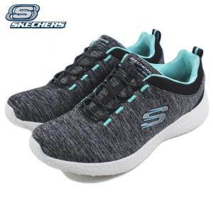 20%OFF スケッチャーズ SKECHERS BURST EQUINOX バースト エキノクス ブラック/ターコイズ 12431-BKTQ|sneaker-soko