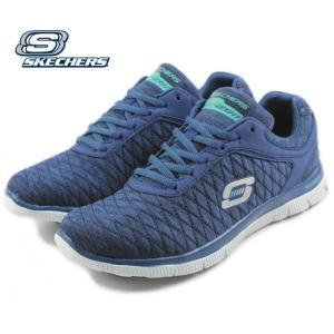 20%OFF スケッチャーズ スニーカー FLEX APPEAL EYE CATCHER フレックス アピール アイキャッチャー ネイビー 12062-NVY|sneaker-soko